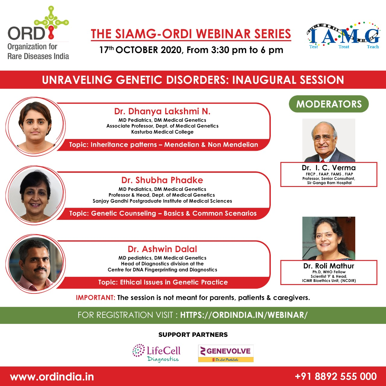 Unraveling Genetic Disorders: Inaugural Session