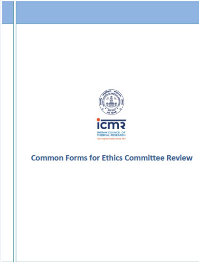 Common Forms for Ethics Committee Review