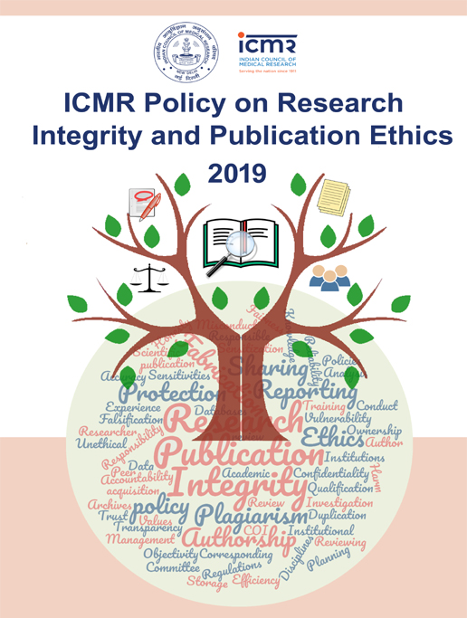 ICMR Policy on Research Integrity and Publication Ethics (RIPE)